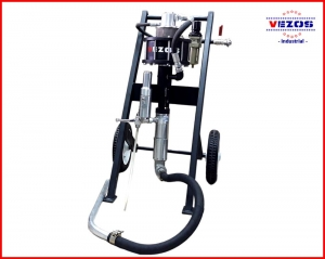 AIR OPERATED FLUID PUMP SPRAY 50:1 - Vezos